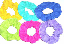 Variegated Colors Fabric Hair Scrunchie Scrunchies by Sherry Stocking Stuffers