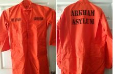 CUSTOM PRINTED Jail Inmate Prisoner Orange Jumpsuit Costume Halloween