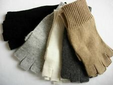 100%  Cashmere fingerless gloves wrist warmer Unisex