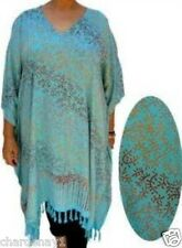 Plus Size 100% Rayon Jungle Print Caftan / Cover up / MuMu V Neck free size