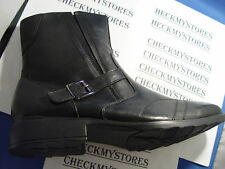NIB $95 NEW Fitzwell Jaser Men's Black Ankle Boots