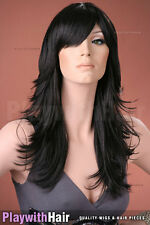 AWESOME!! Flicked Razored Cut Wig - COLOUR CHOICES!