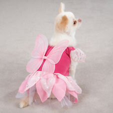 Zack & Zoey Fairy Tails  Dog Halloween Costume XS S M L PINK