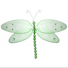 Dragonfly Accents Decorate Walls Ceiling Hanging Decorations Green Dragonflies