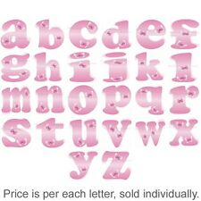 Name Wall Letters Alphabet Stickers Initial Decals Girls Decor Pink Butterfly