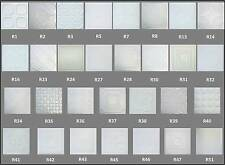 STYROFOAM 20x20 TIN LOOK CEILING TILES EASY INSTALLATION DIFFERENT PATTERNS
