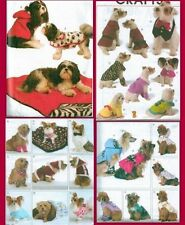 McCalls Craft Pet Dog Clothes Accessories Sewing Pattern McCall's Doggie New