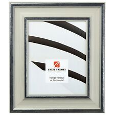 """Craig Frames Contemporary, 2.5"""" Light Gray Wood Picture Frame"""