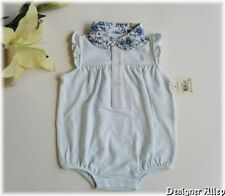 NWT Ralph Lauren Layette Baby Girls Bubble Romper sz3m/6m/9m. 4 Colors Available