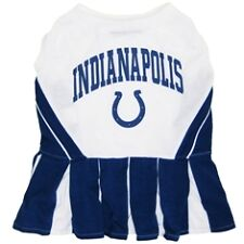Indianapolis Colts Sports NFL Dog Pet Cheerleader Dress ALL