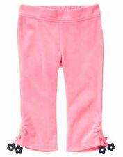 Gymboree Miss Mouse Pink Velour Pants 12 18 2T NWT