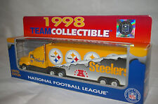 NEW NFL PITTSBURGH STEELERS Die cast Truck Trailer Collectibles 1998 TO 2000