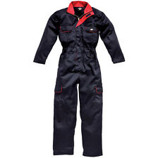 LADIES DICKIES REDHAWK ZIP FRONT COVERALL NAVY BLUE WOMENS OVERALLS WD4839W