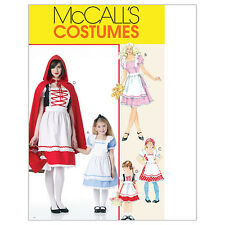 McCall's 6187 Sewing Pattern to MAKE Costumes - Red Riding Hood Alice Panto