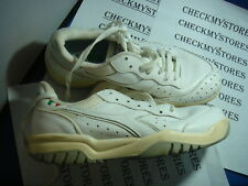 "NEW NIB DIADORA ""MAVERIC III JR"" LEATHER ATHLETIC SNEAKER TENNIS MADE IN ITALY"