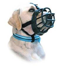 Baskerville Ultra Adjustable Dog Muzzles Nylon Mesh & Rubber SIZE FOR EVERY DOG