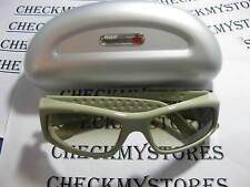 NWT SPY OPTIC DESIGNER SUNGLASSES MADE IN ITALY BEIGE&BROWN
