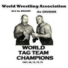 Old School Wrestling: Dick the Bruiser & Crusher World Tag Team Champs t-shirt