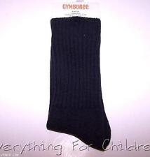 Boys GYMBOREE socks NWT navy blue solid basic ribbed 2T-3T 5-7 8 & up 10