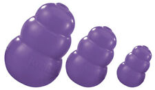 KONG SENIOR Softer Rubber Dog Toy Chew 3 SIZES  Hide a Treat! PURPLE