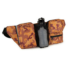 Cruising Companion GREEN or RUST Camo Fanny Packs PERFECT FOR DOG SUPPLIES!
