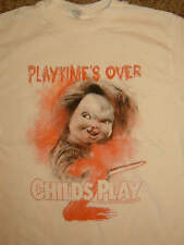 New Childs Play 2 Movie Chucky Playtime's Over T-Shirt
