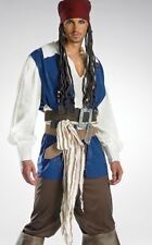 Official Disney Mens/Teen Jack Sparrow Pirate Costume