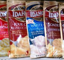 IDAHOAN INSTANT FLAVORED MASHED POTATOES 100% REAL ~ MANY FLAVORS * CHOOSE ONE