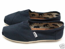 WOMENS TOMS CLASSIC CANVAS SLIP  - NAVY