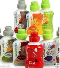 SODASTREAM CONCENTRATED FLAVORED SODA MIX SYRUP ~ MANY FLAVOR CHOICES