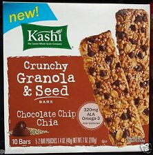 KASHI TLC CHEWY LAYERED GRANOLA BARS WHOLE GRAIN PROTEIN FIBER ~ CHOOSE ONE BOX