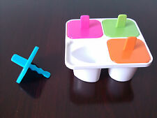 Set of 6+6+4(6) Cartoon and Letter Ice Popsicle Maker Ice Cream Mold Total