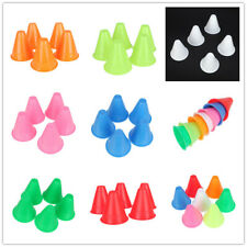 "5 football Soccer roller skating TRAINING Cones 3"" Sports Traffic Safety marker"