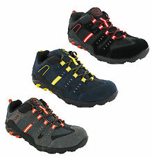 New Mens Lightweight Steel Toe Cap Safety Trainers Work Shoes Size 7-11