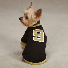 Casual Canine #9 DREW BREES Saints Leader of the Pack Dog Football Jersey