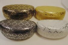 """Foil"" Faux Leather Designer Case Glasses, Sun Glasses Case"