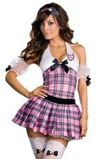 Sexy Cute Womens Prep Catholic Schoolgirl Halloween Costume