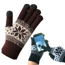 New Mens Ladies Touch Screen Magic Gloves iphone smart phone Winter Snow 6Color