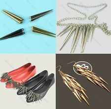 20 Pcs Wholesale DIY Jewelry Spike Beads Earring Necklace Basketball Wives Punk