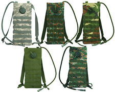 Molle Tactical Cycling 2.5L Hydration Water Reservoir Backpack Bag with Bladder