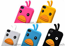 For Apple iPod Touch 5 Cute Funny Duck Case Bird Soft Silicone Gel Skin Cover