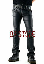 LIP SERVICE VINYL PVC VEGI LEATHER FETISH JEANS FIT GOTHIC PIRAT VAMPIRE PANTS