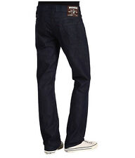 NEW $224 True Religion Jeans Mens Bobby Lowrise Straight Dark Blue Denims 30-40