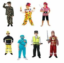 Childrens Kids Fancy Dress Complete Costume Party Outfit Girls And Boys Uniform