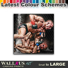 UFC MMA George St-Pierre BJ Penn Canvas Print Framed Photo Picture Wall Artwork