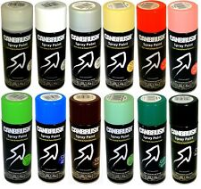 400ml Spray Paint Auto DIY Colour Aerosol Can or Tape for Wood Metal Plastic New