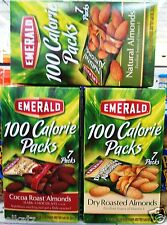 Emerald On the Go! Almonds Nuts Snack Packs ~ Pick One