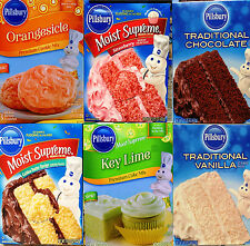 Pillsbury Moist Supreme Pudding Traditional Cake Cupcake Cookie Mix ~ Pick One