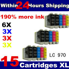 15 Compatible Ink Cartridges for brother series printer