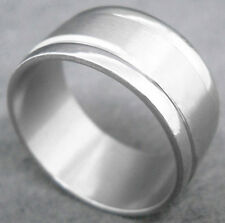 R060S charm men strong firm stainless steel cool ring for thumb you pick size